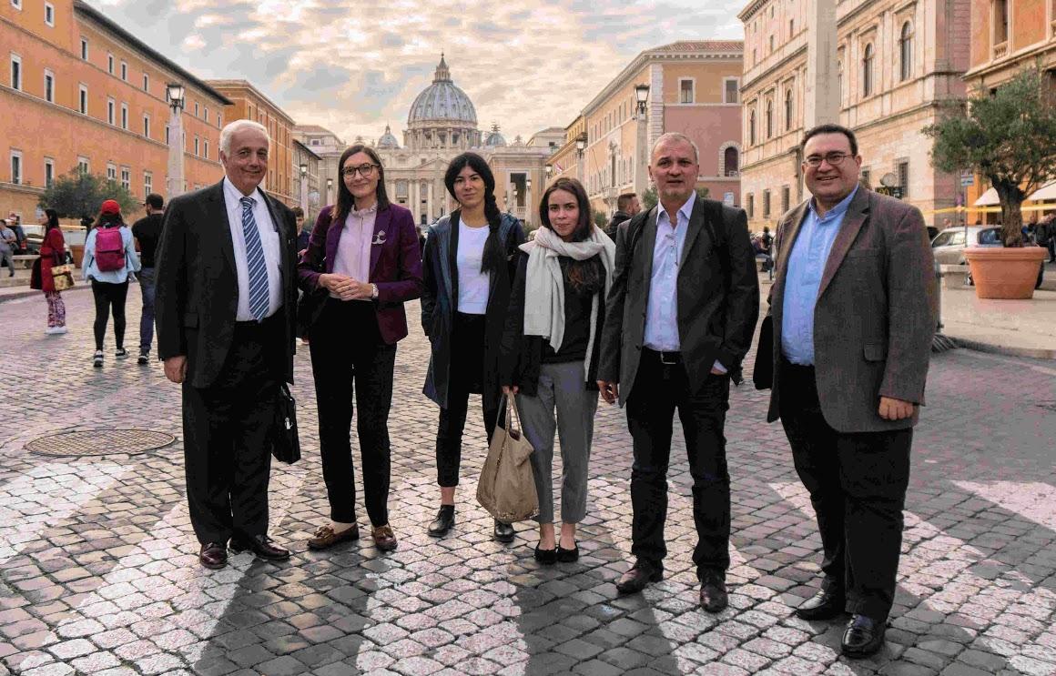 Rome Conference Team (November 2017 )