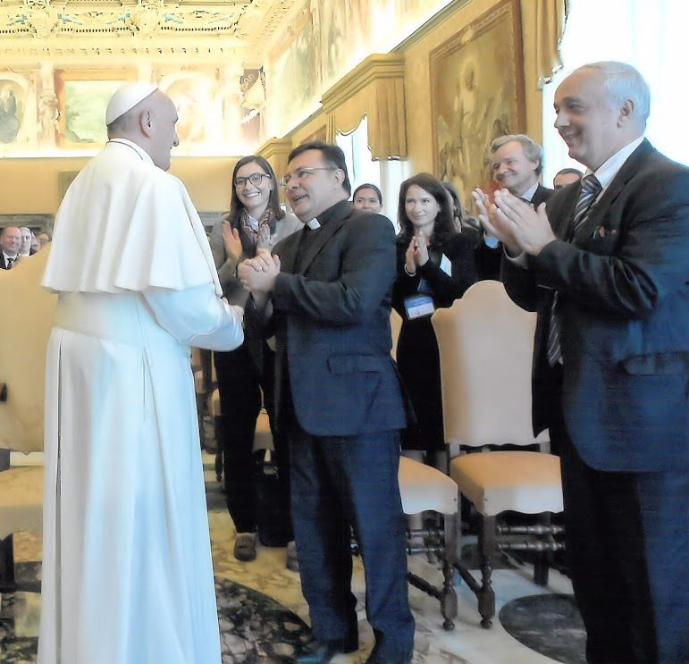 Audience with Pope Francis, November 2017
